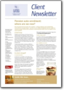Autumn Newsletter 2012