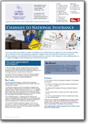 Changes to NI Factsheet