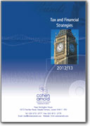 Tax and Financial Strategies 2012-2013