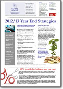 Year End Strategies 2012-2013
