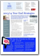 Year End Strategies 2013-2014