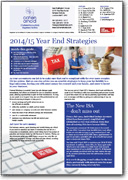 Year End Strategies 2014-2015